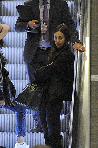 Irina arrived in Paris