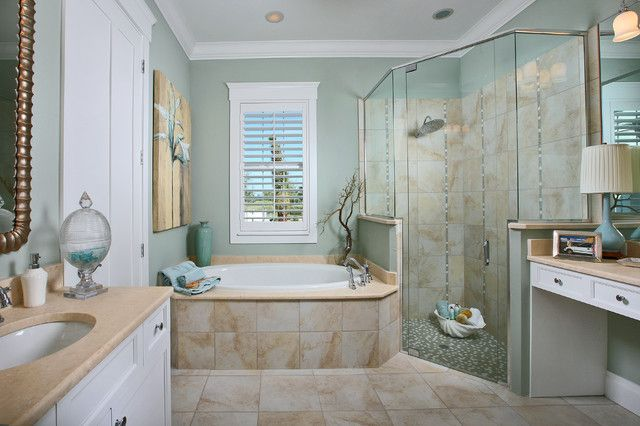 Seashore Bathroom Decor: 40 Beach Style Bathroom Design