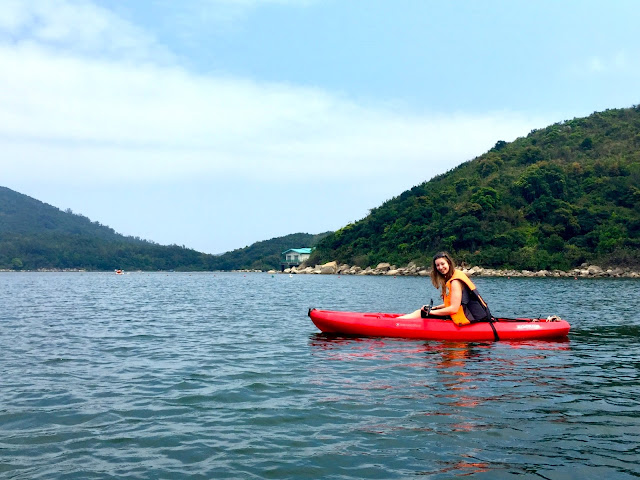 Kayaking at Hoi Ha, Sai Kung Peninsula, Hong Kong