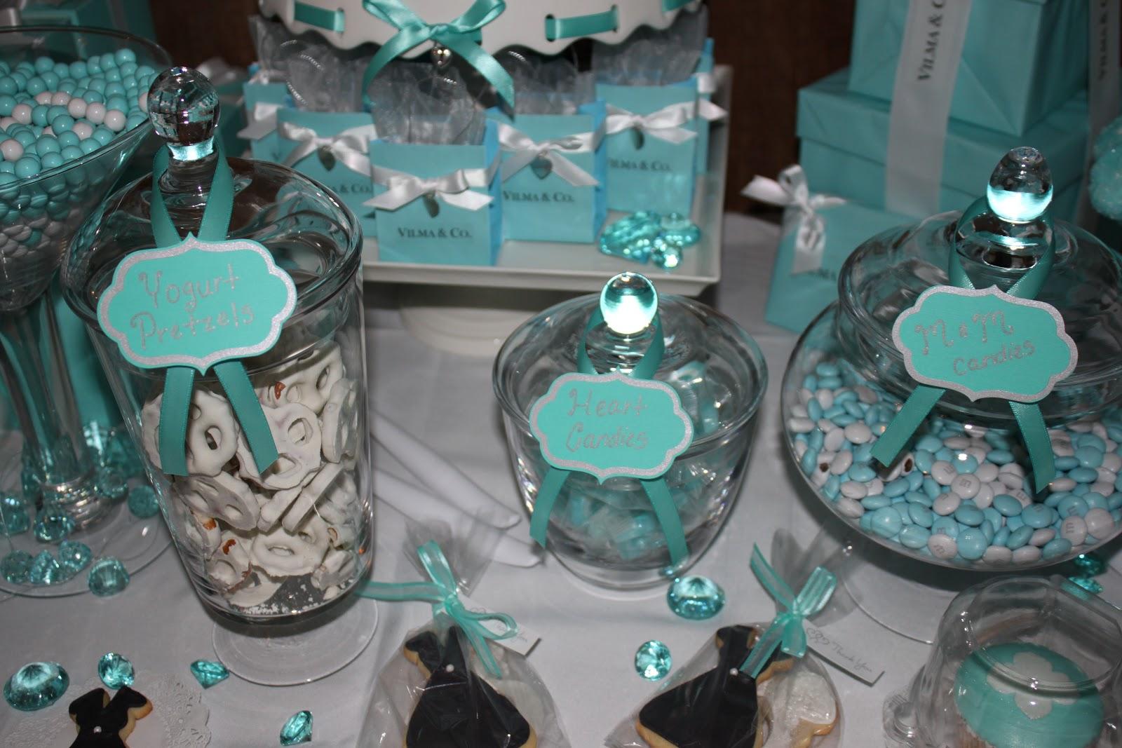 Cake Creations by Trish: Tiffany Blue Bridal Shower  Tiffany Bridal Shower Cakes