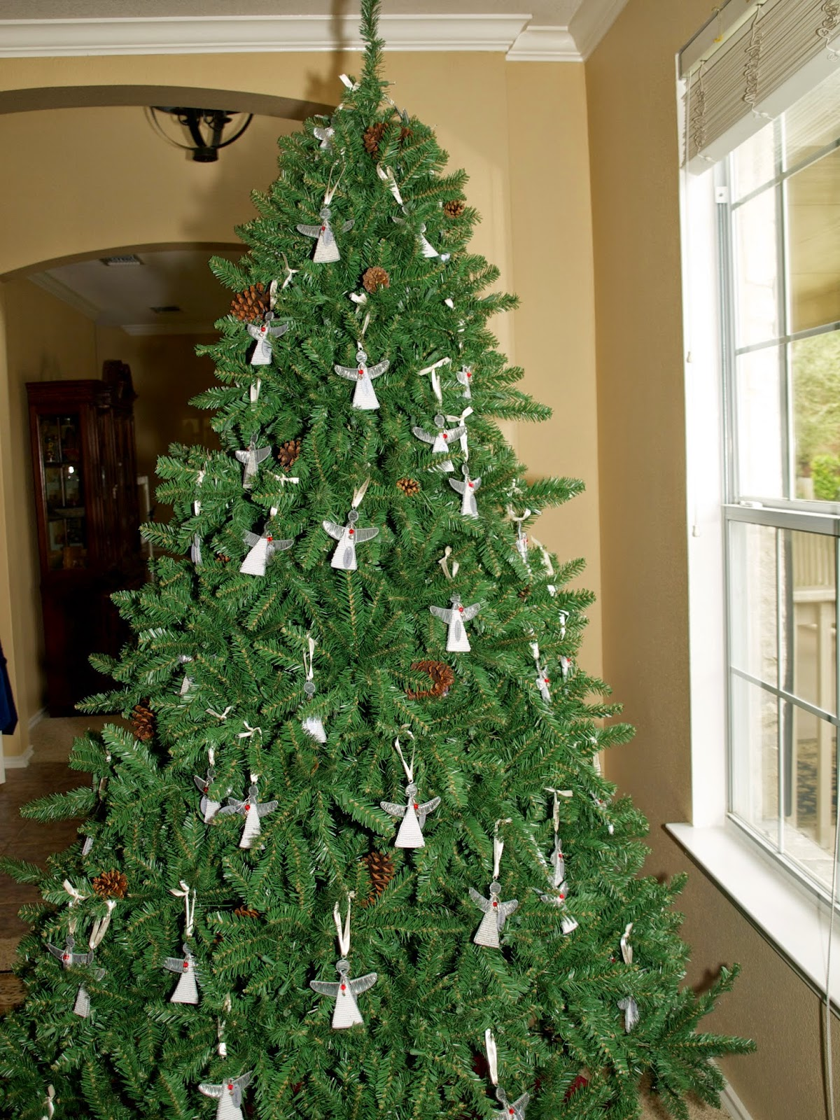 She Bought 100 Angel Christmas Tree Ornaments To Put On Her Own Christmas  Tree?