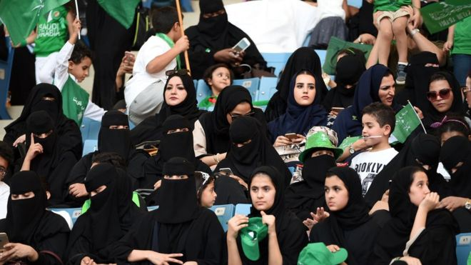 Saudi Arabia to allow women into sports stadiums