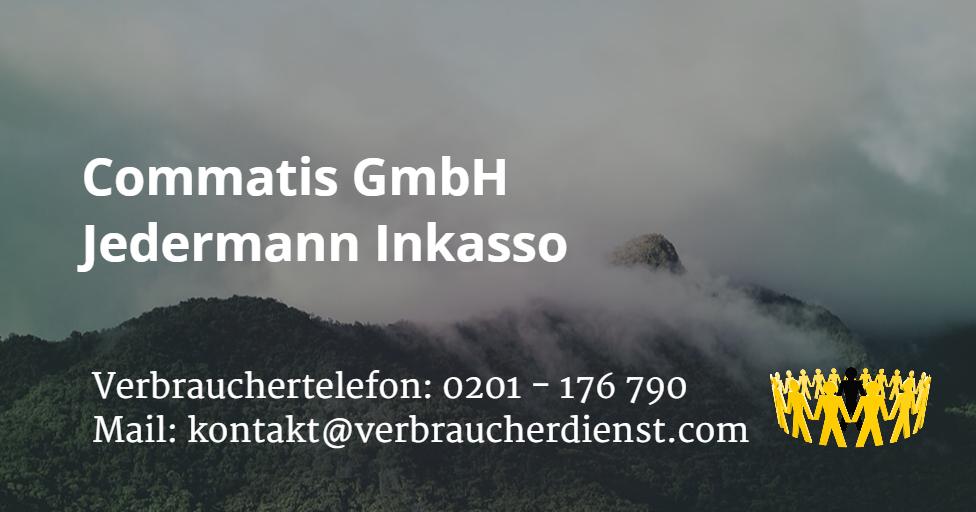 Commatis GmbH | Jedermann Inkasso - Verbraucherdienst e.V.