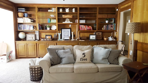 The Tale of an Ugly Living Room | DIY beautify