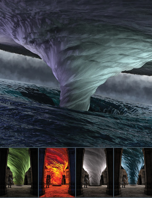 Tornado of the Four Elements