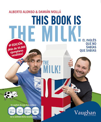 Portada del libro This book is the milk de Alberto Alonso y Damián Mollá