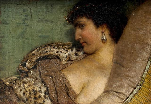 Lawrence Alma-Tadema - Cleopatra VII
