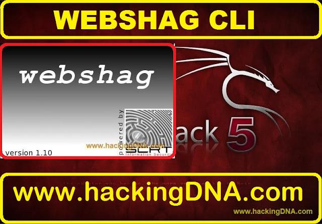 webshag on backtrack 5