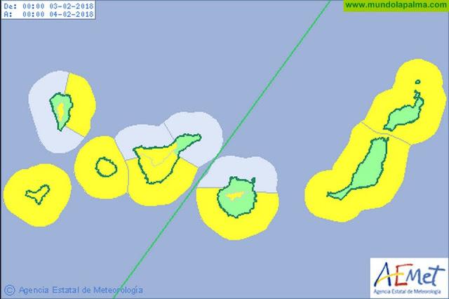 El viento protagonista del fin de semana en La Palma