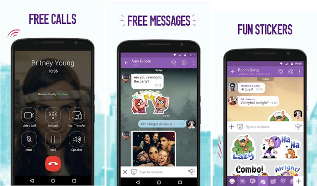 Viber - Free Calls & Messages Screenshots