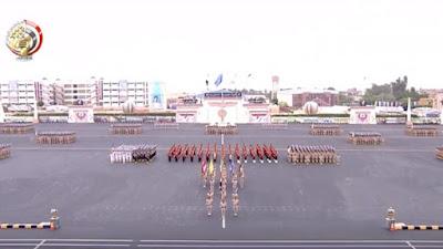 مراسم الاحتفال بتخريج الدفعة 154 من كلية الضباط الاحتياط