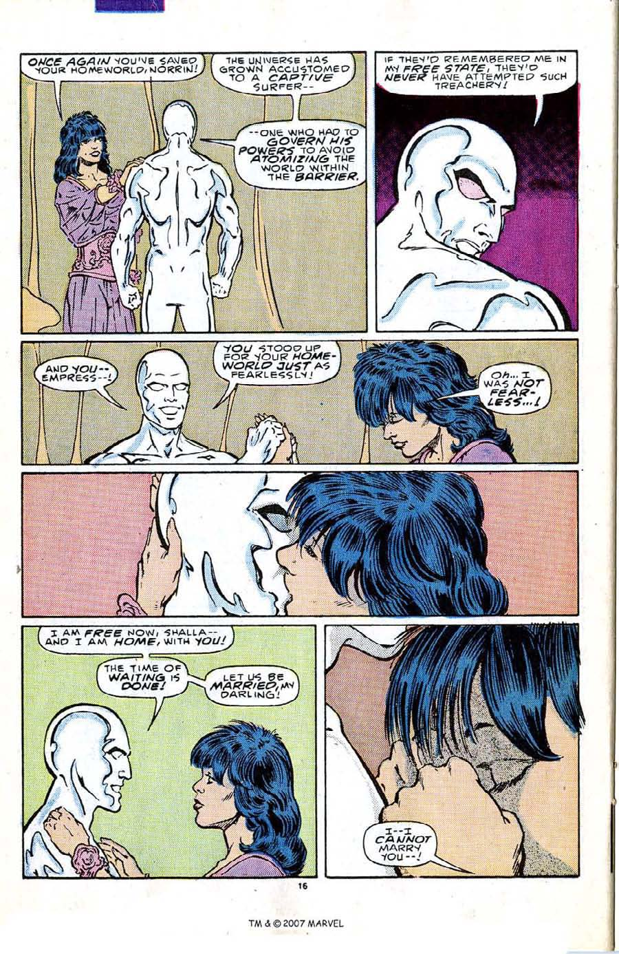 Read online Silver Surfer (1987) comic -  Issue #2 - 22