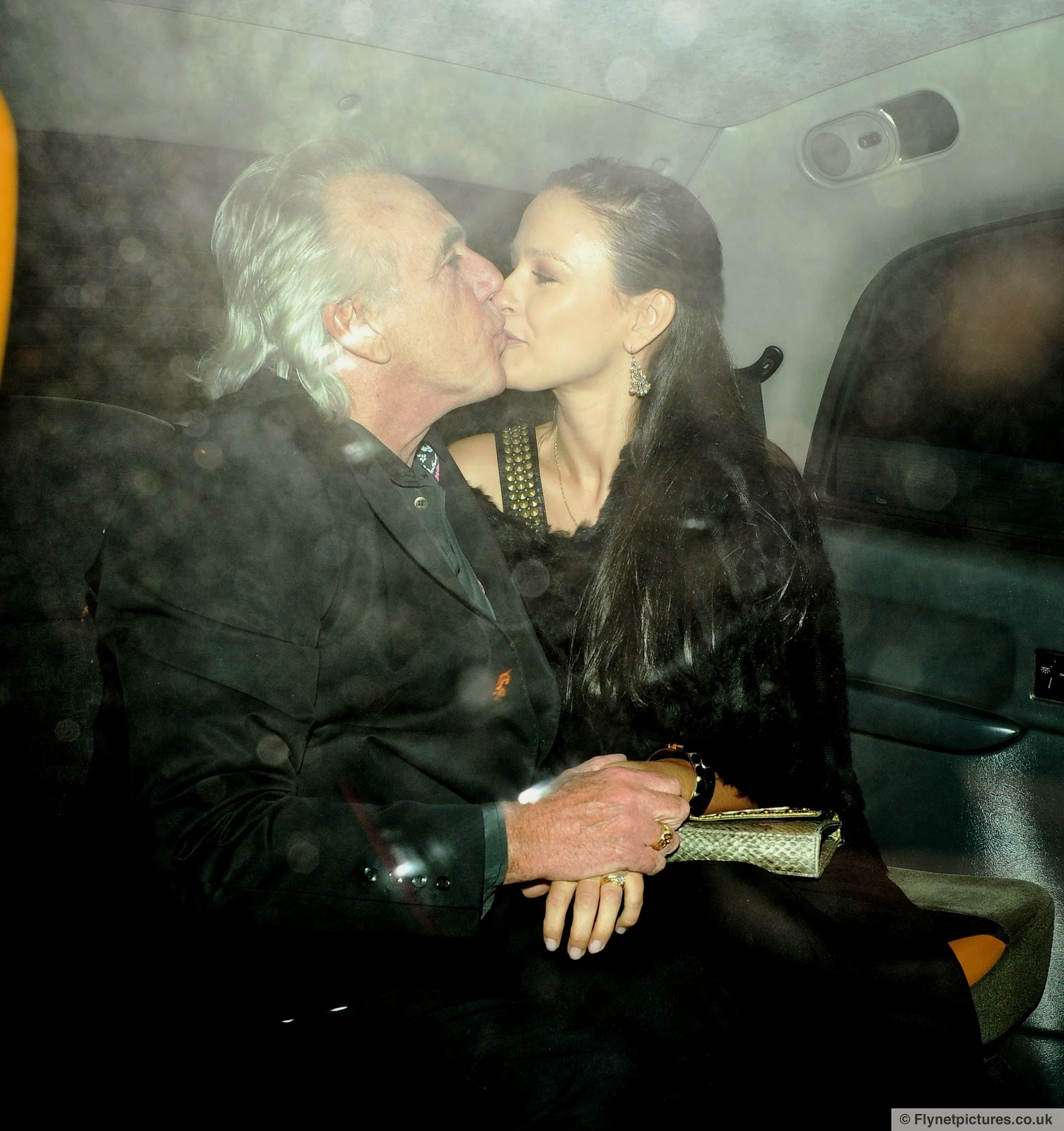 Peter Stringfellow and his girlfriend Bella Wright attend the launch News Photo - Getty Images