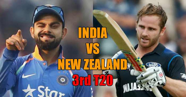 Match Preview: India vs New Zealand 3rd T20, Greenfield, Thiruvananthapuram 2017
