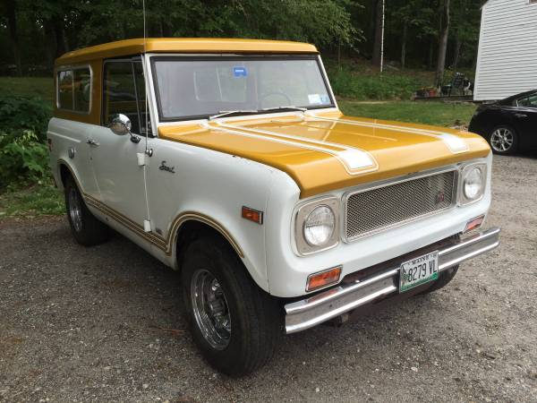 1971 International Scout 800B Comanche - 4x4 Cars