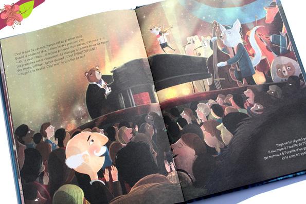 L'ours et son orchestre de David Litchfield - Belin jeunesse
