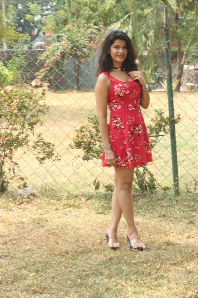 Manisha Shree At Bongu Movie Team Meet Stills