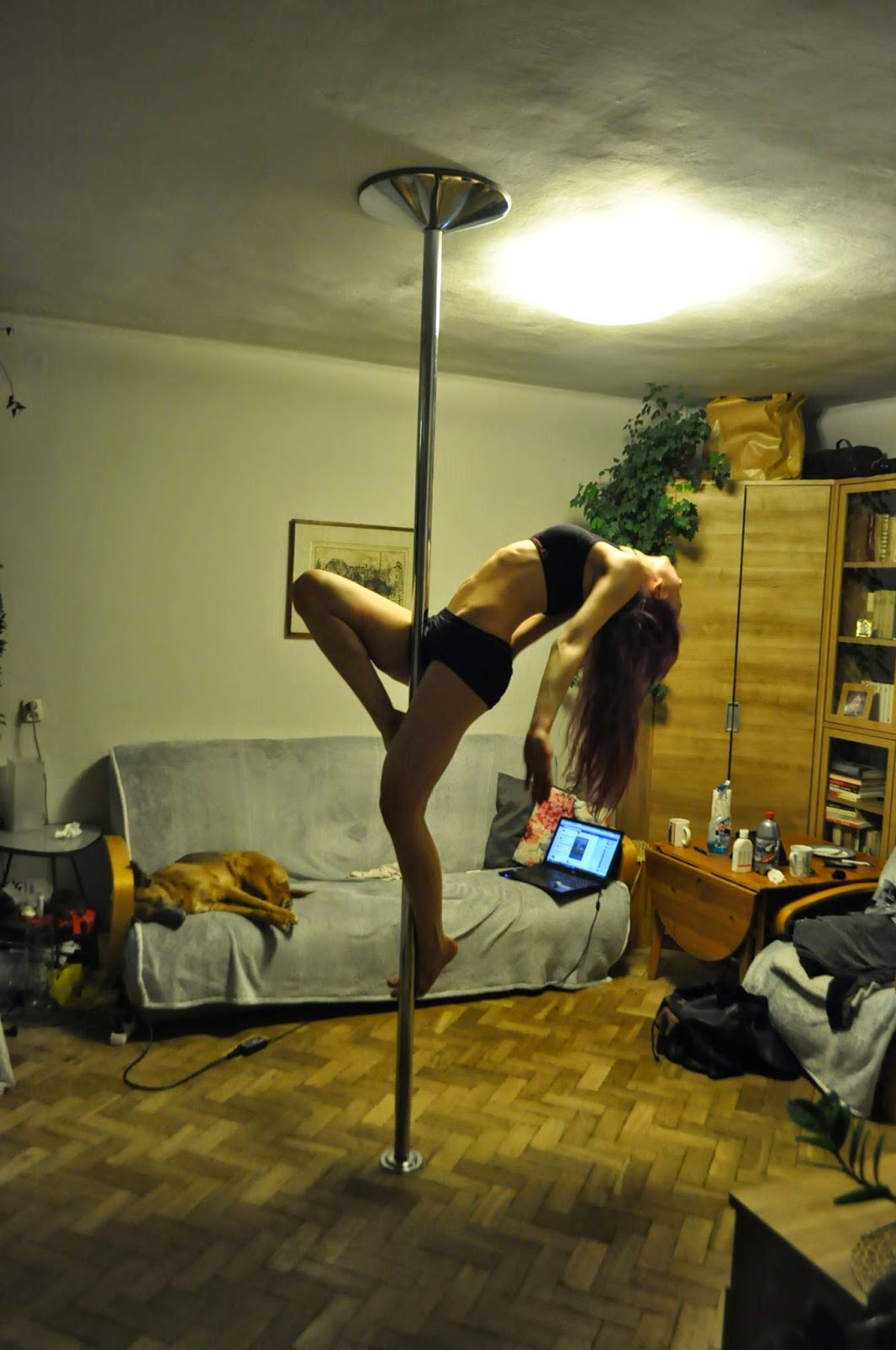 pole dance w domu