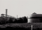 Photograph of the gasometer on Bulls Lane 1966