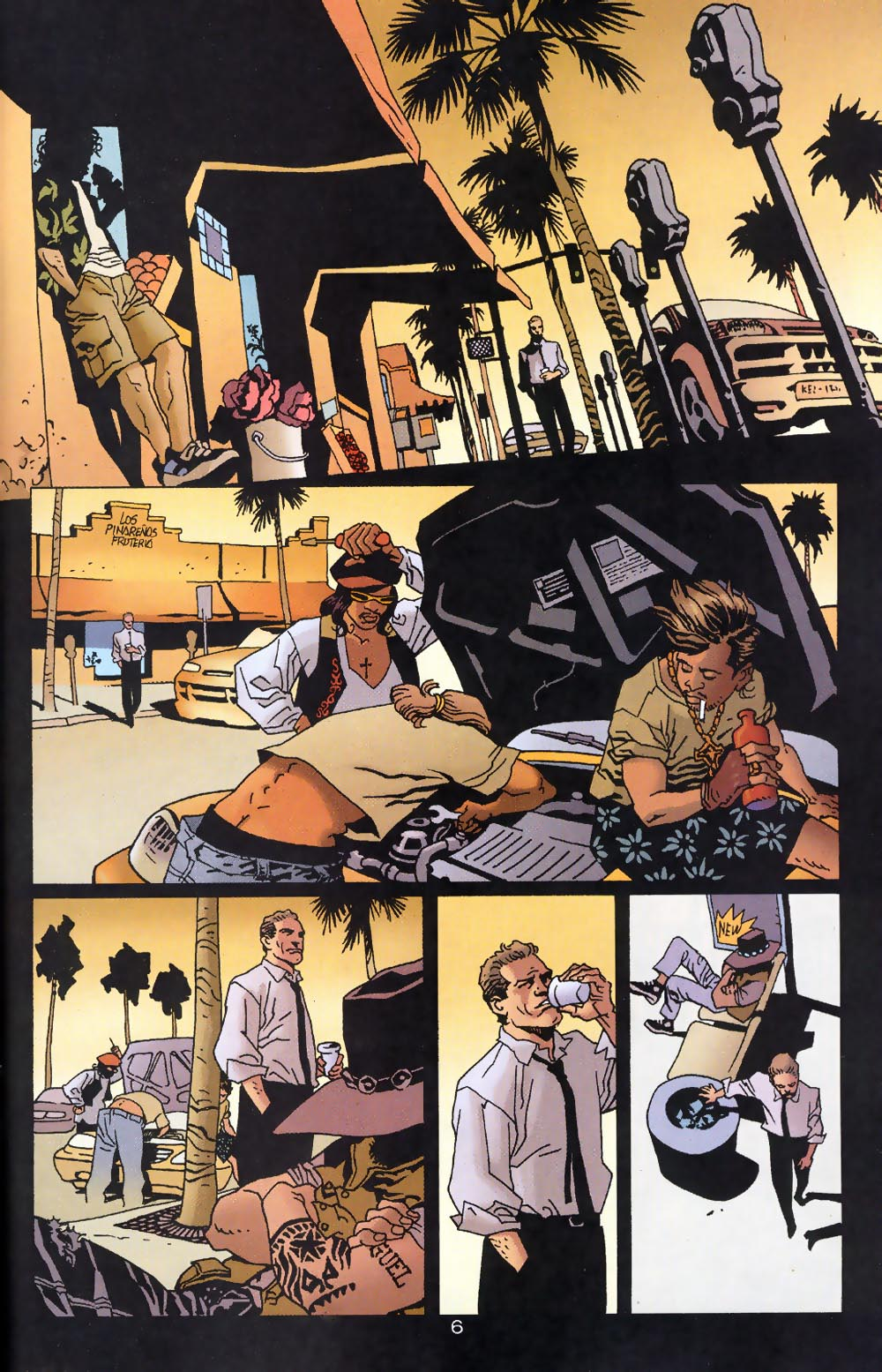Read online 100 Bullets comic -  Issue #39 - 8