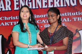 Pooja at Panimalar College Event Stills Pictures Pooja at Panimalar Engineering College (4).jpg