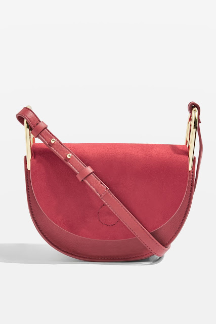 half moon shape cross body bag
