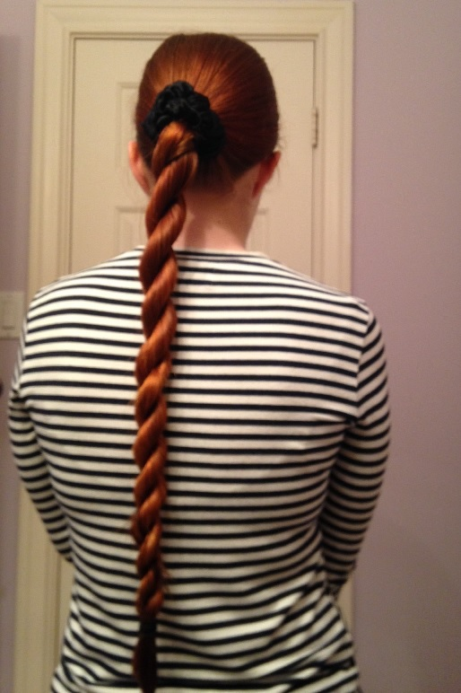 You Can Also See That Due To The Twisting Involved This Braid Eat Up Quite A Bit Of Length Is Useful If For Whatever Reason
