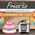 Aniversário de 1 Ano do blog + Sorteio!!!