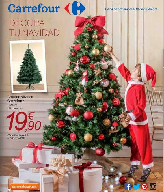 catalogo carrefour adornos navidad