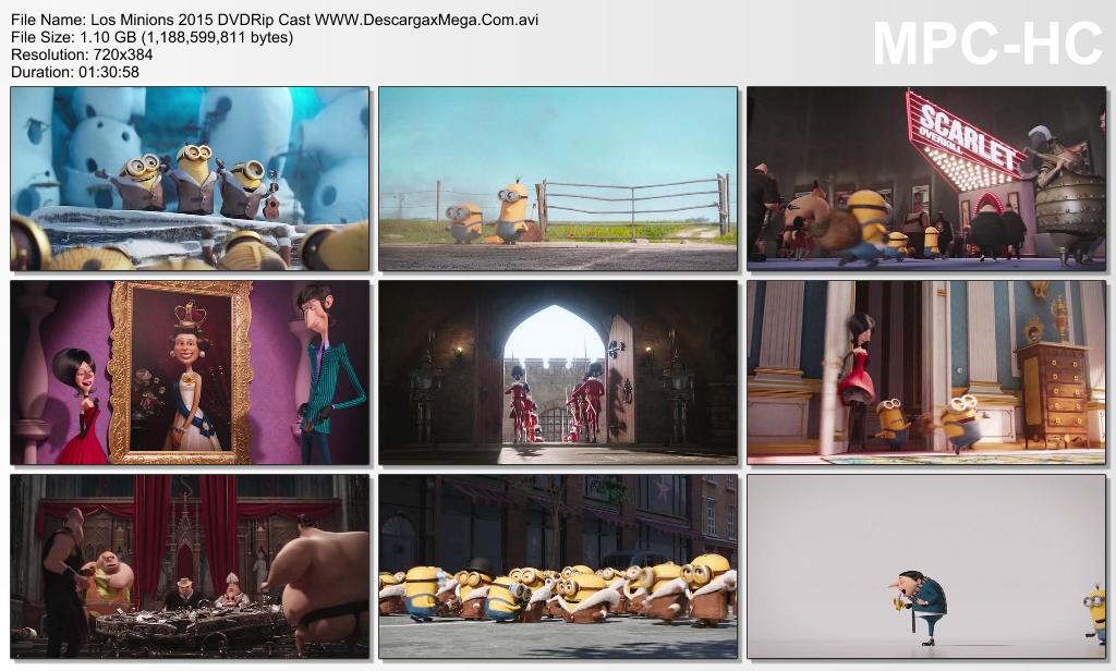 Ver Los Minions 2015 DVD Rip Castellano online