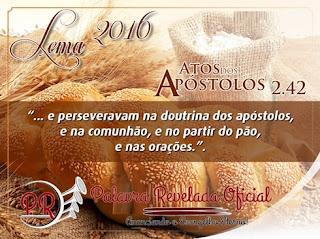 LEMA PARA O ANO 2016