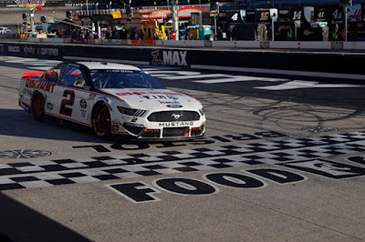 It looked like the wild, wild west at Bristol Motor Speedway Sunday afternoon. #NASCAR
