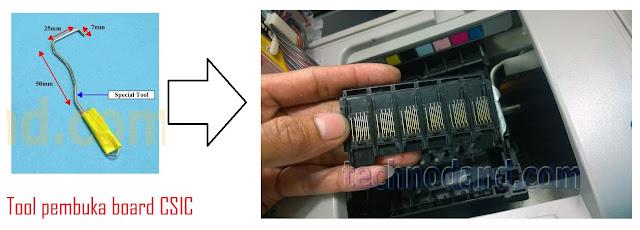 Tinta Sering Tidak Terdeteksi Pada Printer 1390