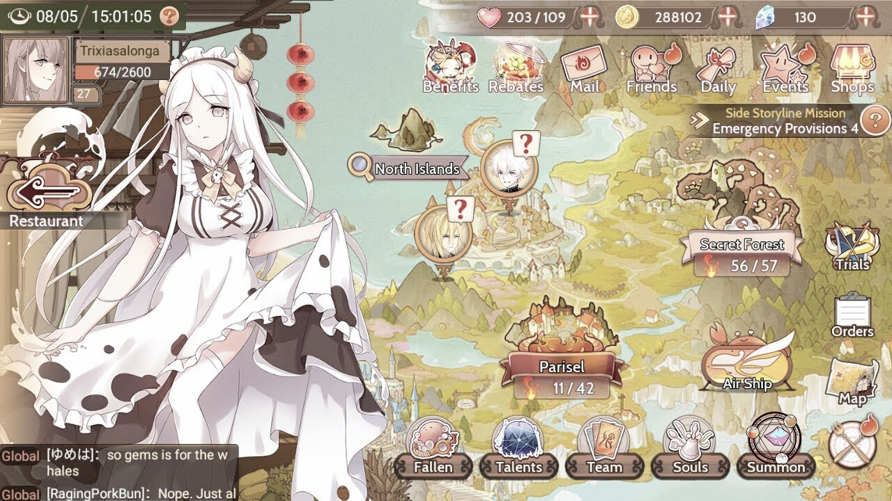 "I found my love ""Food Fantasy"""