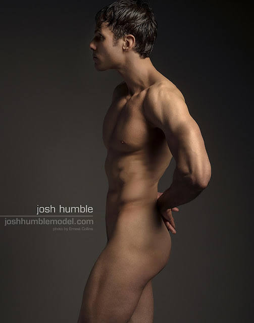 Josh Humble Model, Male Form, photo by Ernest Collins