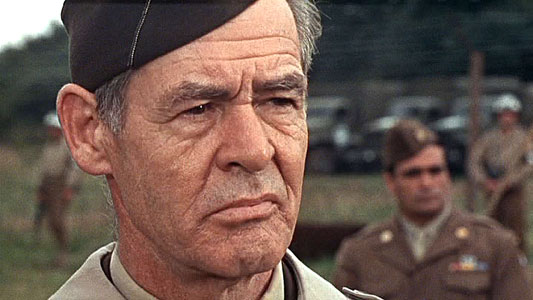 Robert Ryan in The Dirty Dozen movieloversreviews.filminspector.com