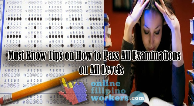 Must Know Tips on How to Pass All Examinations on All Levels