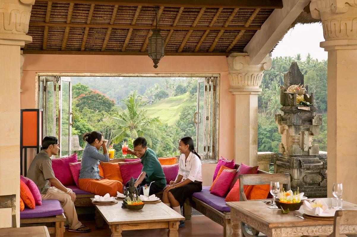 Restaurante Indus en Ubud, Bali, Indonesia