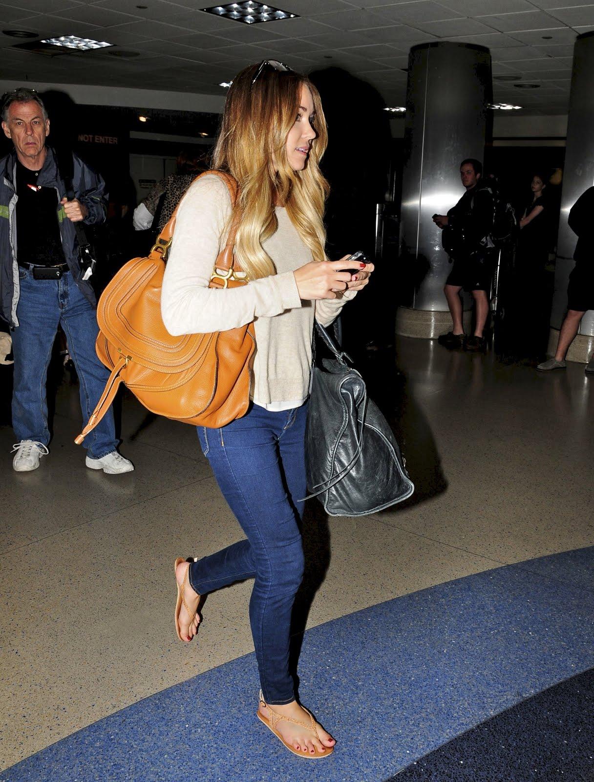 Celeb Diary: Lauren Conrad @ LAX Airport