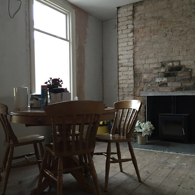dining room renovation progress