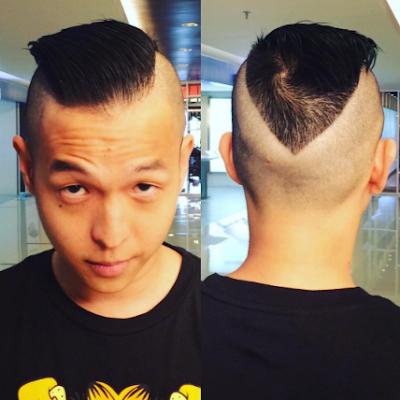 Model Gaya Potongan Rambut Ernest Prakasa Terbaru