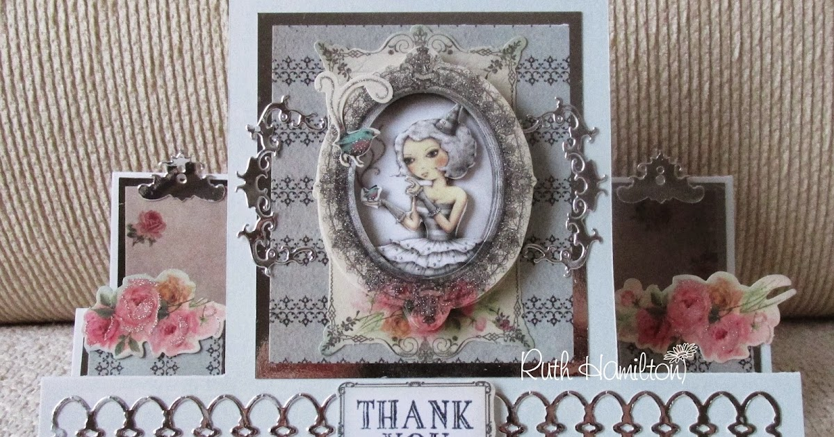 Blanchardstown Inspiring Ideas: A Passion For Cards: Santoro Mirabelle Stepper Card