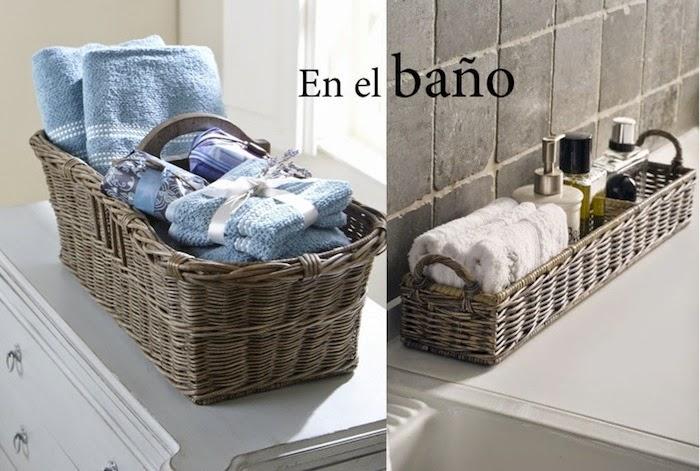 6 ideas para sacarle partido a una cesta decoraci n - Ideas para guardar juguetes en los dormitorio ...