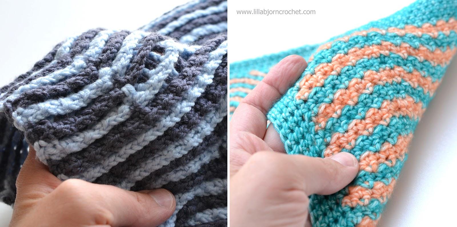 Brioche Crochet: to support the trend | LillaBjörn\'s Crochet World