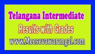TS Intermediate 1st 2nd year Results 2017 with Grades