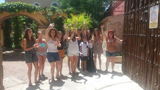 Encuentro Flamenco en el Castell de Torrelles de Foix. Julio 2016.
