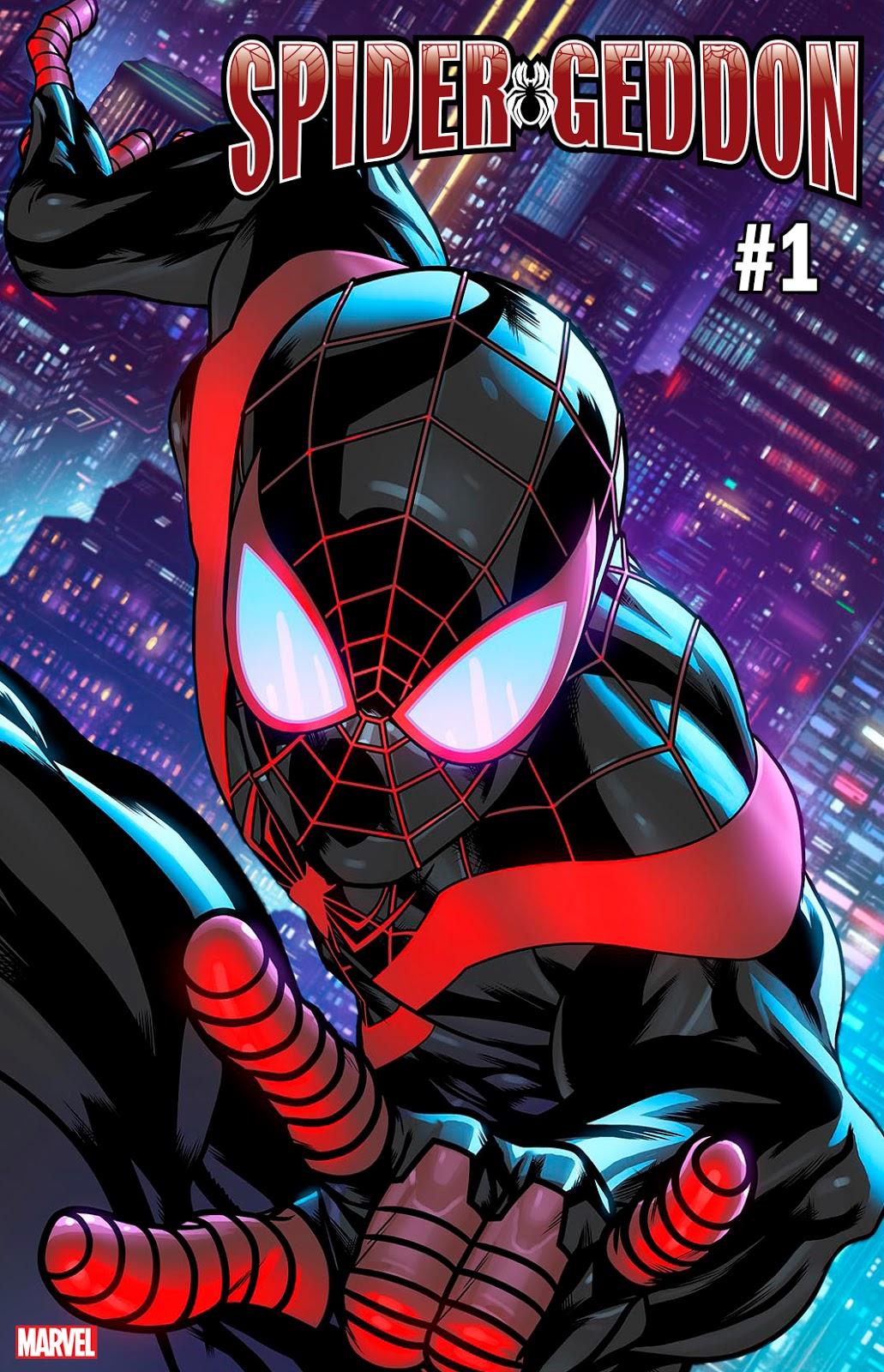 Marvel Comics 2018 NYCC Previews Spider-Geddon # 1 Jorge Molina Variant