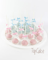 Baby shower cakepopsit
