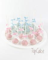 Baby shower cakepopsit