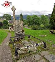 Escocia, Balquhidder - Tumba Rob Roy